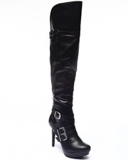 XOXO - Nicole Platform Over Knee Boot
