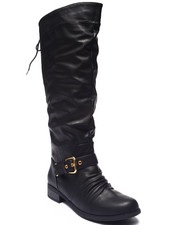 Footwear - Marcher Equestrian Lace-up Boot
