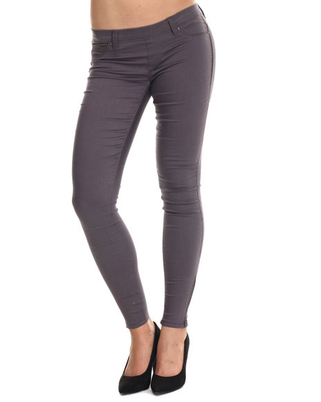 Basic Essentials - Women Grey The Miracle Twill Pants