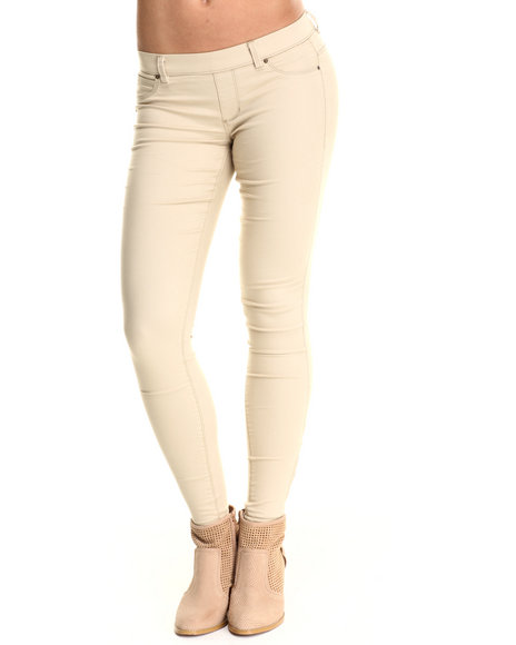 Basic Essentials - Women Khaki The Miracle Twill Pants
