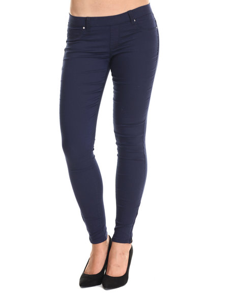 Basic Essentials - Women Navy The Miracle Twill Pants