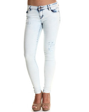 Women - Destructed Spirit Skinny Jean