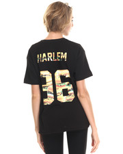 Tops - Oversized Harlem # Tee