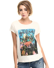 Tops - Broken Heart Tee