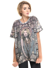 Tops - Oversized Stain Glass Kate Tee