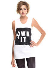-FEATURES- - Own It Muscle Tee