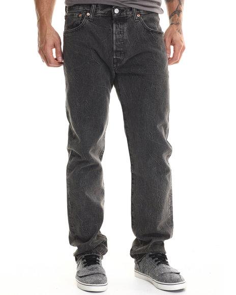 Levi's - Men Grey 501 Original Fit Grey Rocker Jeans