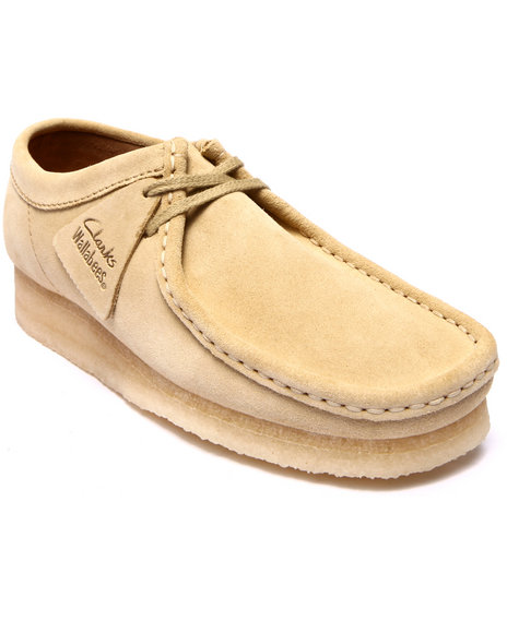 Clarks - Men Khaki,Tan Wallabee Shoes