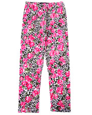 Bottoms - Leopard & Floral Print Legging (7-16)