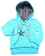 Sizes 4-6x - Kids - Star Zebra Print Hoodie (4-6X)