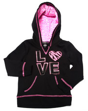 Sizes 4-6x - Kids - Love Zebra Print Hoodie (4-6X)