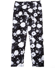 Bottoms - Floral Print Legging (7-16)