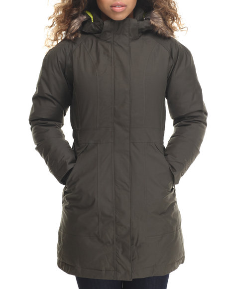 The North Face - Women Olive Arctic Parka