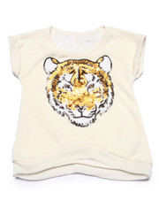 Sizes 4-6x - Kids - Sequin Tiger Slub Tee (4-6X)