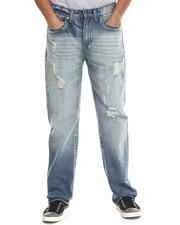 Men - Chevron Flap - Pocket Denim Jeans