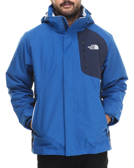 The North Face - Men Blue,Navy Carto Triclimate 3-In-1 Waterproof Jacket