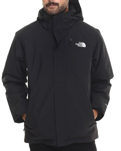 The North Face - Men Black Carto Triclimate 3-In-1 Waterproof Jacket