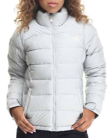 The North Face - Women Light Grey Nuptse 2 Jacket