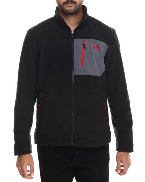 The North Face - Men Black Chimborazo Full Zip Fleece Jacket