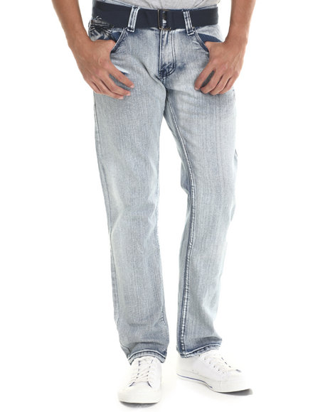 Buyers Picks - Men Light Wash Summit Back - Pocket Denim Jeans