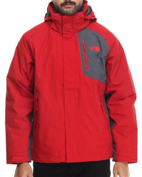 The North Face - Men Red Carto Triclimate 3-In-1 Waterproof Jacket