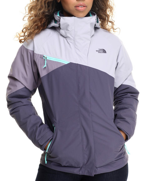 The North Face - Women Blue,Grey,Purple Cinnabar Triclimate Jacket - $240.00