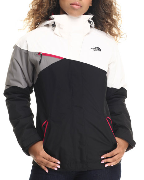 The North Face - Women Black,Grey,White Cinnabar Triclimate Jacket