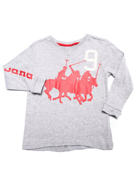 Arcade Styles Light Grey T-Shirts