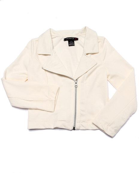 La Galleria Cream Light Jackets