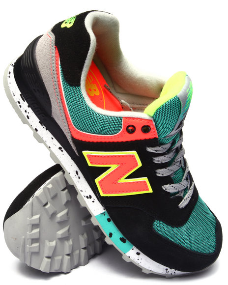 New Balance - Women Black 574 90'S Outdoor