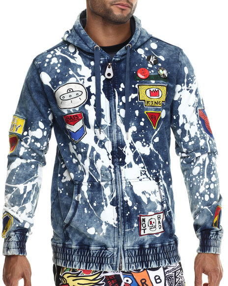 Medium Wash Light Jackets