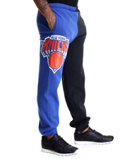 NBA, MLB, NFL Gear - New York Knicks NBA Side Logo Sweatpants