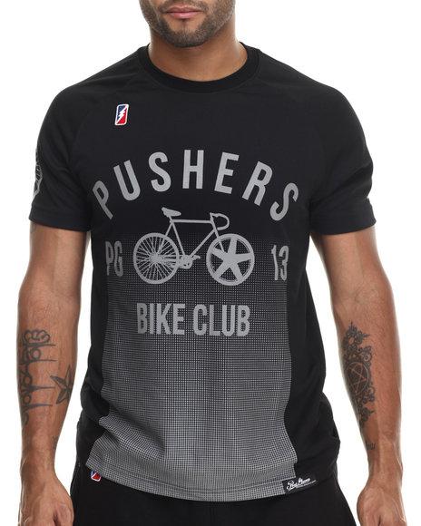 Post Game - Men Black Pushers Bike Club S/S Tee