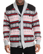 Outerwear - Fairisle Cardigan