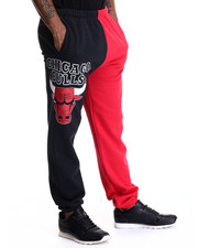 NBA, MLB, NFL Gear - Chicago Bulls NBA Side Logo Sweatpants