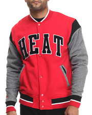 NBA, MLB, NFL Gear - Miami Heat NBA Role Player Fleece  Jacket