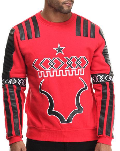 Koodoo Red Pullover Sweatshirts