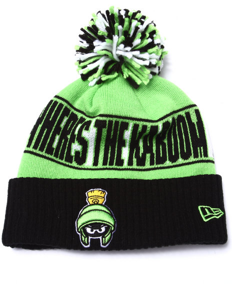 New Era Men Marvin The Martian Rep Ur Team Knit Hat Multi - $18.99