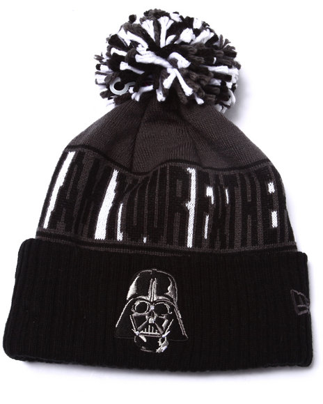 New Era Men Darth Vader Rep Ur Team Knit Hat Multi - $17.99
