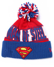 New Era - Man of Steel Rep UR Team Knit Hat