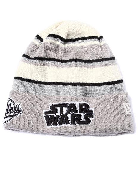 New Era Men Star Wars Winter Tradition Knits Hat Grey
