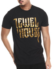 Men - Jewelhouse Sequin Logo T-Shirt