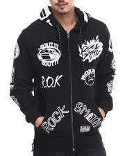 Men - Rap Zip Up Hoodie