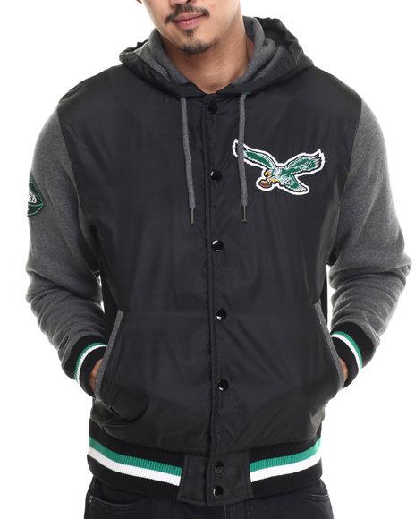 Mitchell & Ness - Men Green Philadelphia Eagles Nfl League Standing Jacket