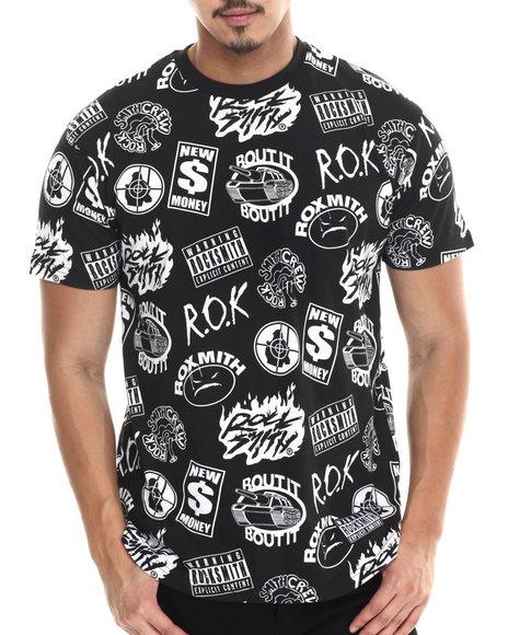 Rocksmith - Men Black Rap T-Shirt