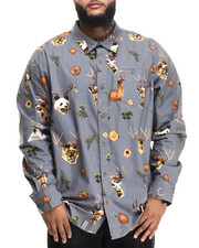 Men - The Wild L/S The Wild L/S Button-Down (B&T)