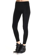 Women - Donia Black Velvet Legging