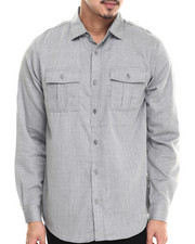 Men - Jacoby Herringbone Button down shirt