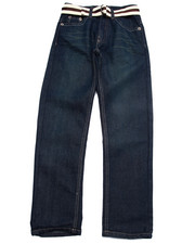 Sizes 8-20 - Big Kids - BELTED JEANS (8-20)