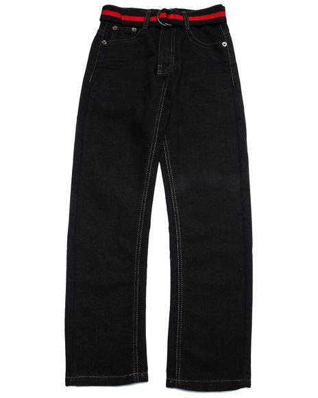 Coogi - Boys Black Belted Jeans (8-20)